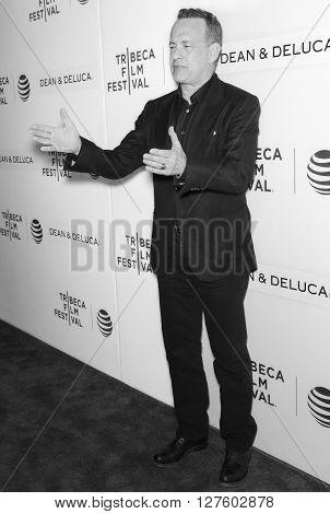 2016 Tribeca - Tribeca Talks Storytellers - Tom Hanks With John Oliver