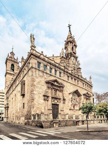 Church Of Santos Juanes. Valencia, Spain