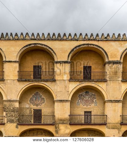 Old moorish architecture in the city of Cordoba, Spain