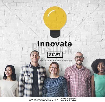 innovate Development Ideas Progress Development Concept