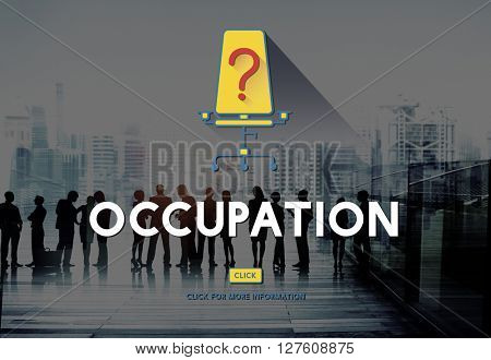 Occupation Career Job Search Position Concept
