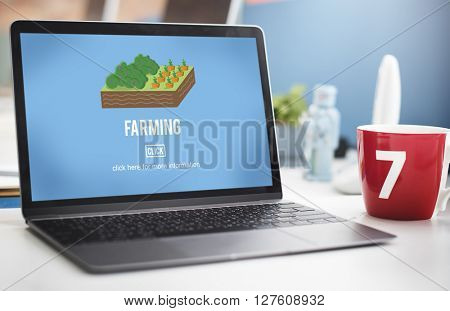 Business Computer Technology Device Search Concept
