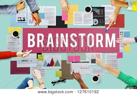 Brainstorm Analysis Creation Innovation Planning Concept