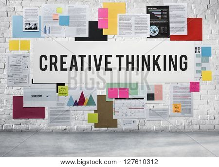 Creative Thinking Design Development Ideas Skills Concept
