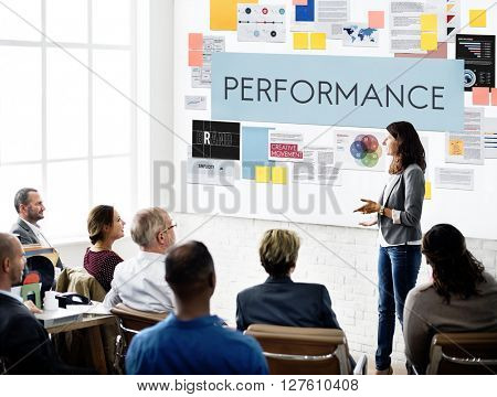 Performance Accomplishment Fulfillment Concept