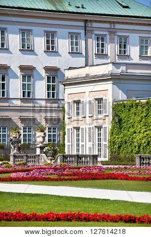 Mirabell Garden In Salzburg, Austria