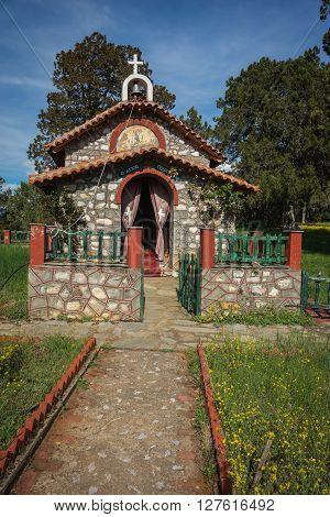 The Picturesque Little Church, Prespa, Greece