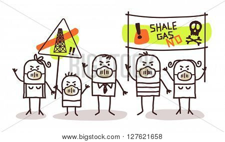 people against shale gas extract