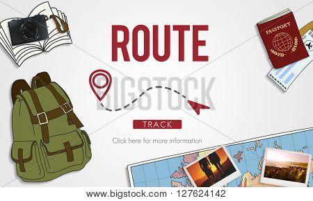Navigation GPS City Locate Explore Concept