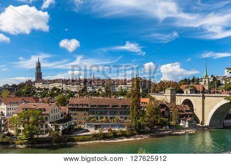 View Of The Berne Old Town