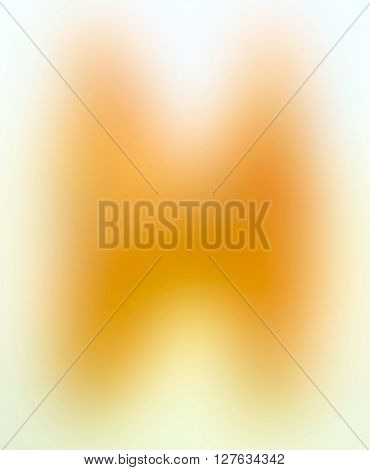 The variocolored blurred background and texture. Letter H.