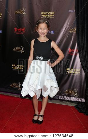 LOS ANGELES - APR 27:  Brooklyn Rae Silzer at the 2016 Daytime EMMY Awards Nominees Reception at the Hollywood Museum on April 27, 2016 in Los Angeles, CA