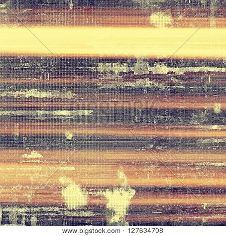Grunge background with delicate aged texture. Antique backdrop with retro vintage elements and different color patterns: yellow (beige); brown; gray; red (orange); purple (violet); pink