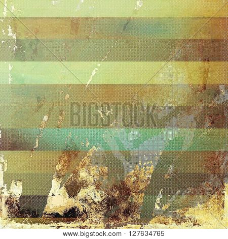 Grunge abstract textured background, aged backdrop with different color patterns: yellow (beige); brown; gray; green; blue; cyan