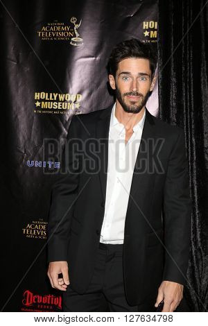 LOS ANGELES - APR 27:  Brandon Beemer at the 2016 Daytime EMMY Awards Nominees Reception at the Hollywood Museum on April 27, 2016 in Los Angeles, CA