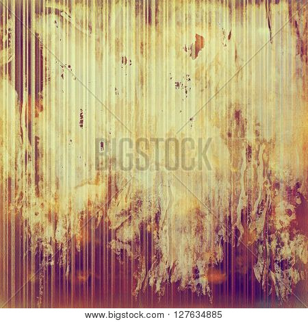 Retro abstract background, vintage grunge texture with different color patterns: yellow (beige); brown; red (orange); purple (violet); pink