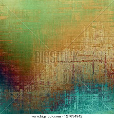 Retro style texture for your layouts. Grunge background with different color patterns: yellow (beige); brown; green; blue; pink; cyan