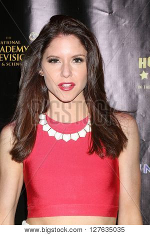 LOS ANGELES - APR 27:  Brittany Underwood at the 2016 Daytime EMMY Awards Nominees Reception at the Hollywood Museum on April 27, 2016 in Los Angeles, CA