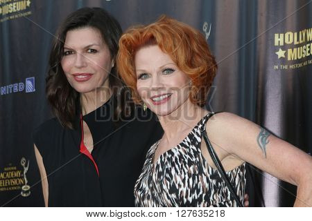 LOS ANGELES - APR 27:  Finola Hughes, Patsy Pease at the 2016 Daytime EMMY Awards Nominees Reception at the Hollywood Museum on April 27, 2016 in Los Angeles, CA