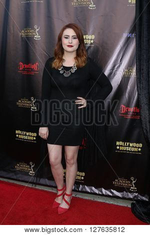 LOS ANGELES - APR 27:  Jillian Clare at the 2016 Daytime EMMY Awards Nominees Reception at the Hollywood Museum on April 27, 2016 in Los Angeles, CA