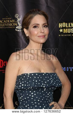 LOS ANGELES - APR 27:  Lisa LoCicero at the 2016 Daytime EMMY Awards Nominees Reception at the Hollywood Museum on April 27, 2016 in Los Angeles, CA