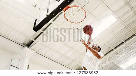 Basketball Bounce Competition Exercise Player Concept