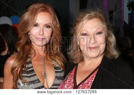 LOS ANGELES - APR 27:  Tracey Bregman, Beth Maitland at the 2016 Daytime EMMY Awards Nominees Reception at the Hollywood Museum on April 27, 2016 in Los Angeles, CA