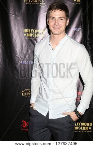 LOS ANGELES - APR 27:  Robert Palmer Watkins at the 2016 Daytime EMMY Awards Nominees Reception at the Hollywood Museum on April 27, 2016 in Los Angeles, CA