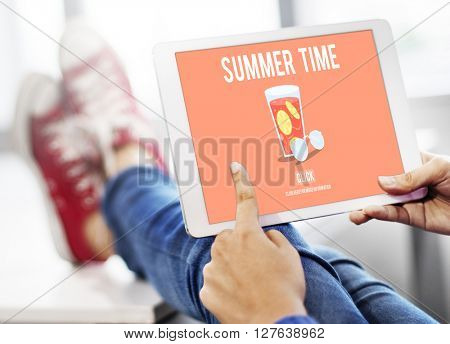 Summer Time Vacation Holiday Concept