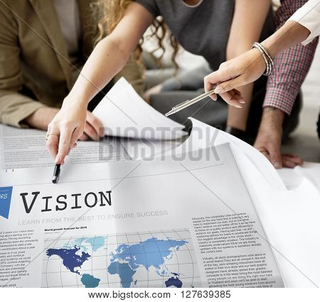 Vision Value Inspiration Motivation Objective Concept