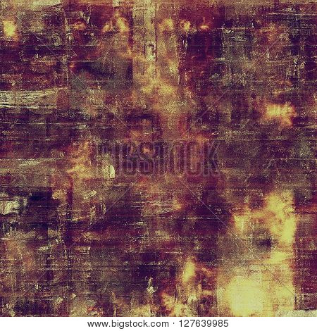 Stylish grunge texture, old damaged background. With different color patterns: yellow (beige); brown; gray; purple (violet); pink