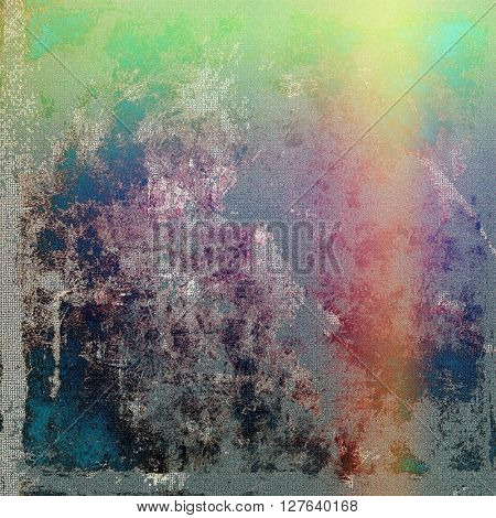 Grunge abstract textured background, aged backdrop with different color patterns: yellow (beige); gray; green; blue; red (orange); purple (violet)