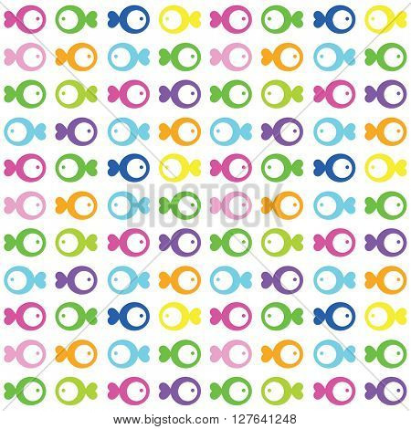 Fish seamless pattern - Design element