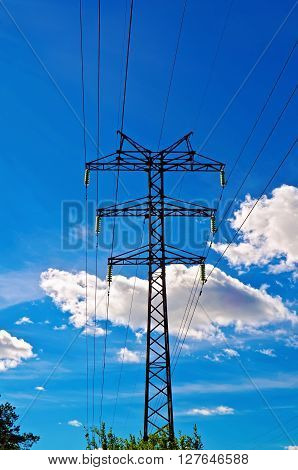 Power High-voltage Line