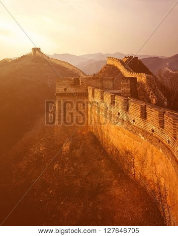 Great Wall of China Ancient Concept