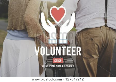 Volunteer Organization Social Help Support Concept