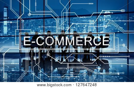 E-commerce Online Shopping Sale Concept