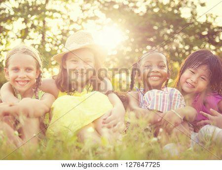 Children Outdoor Park Concept