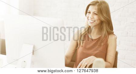 Businesswomen Manager Entrepreneur Secretary Concept