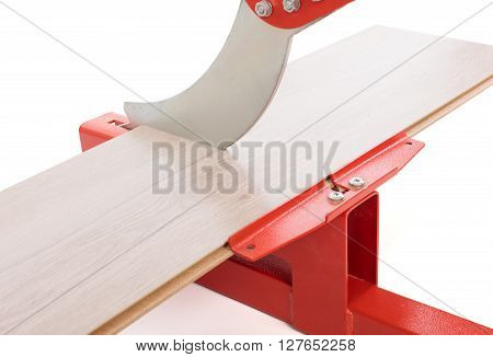 Red Tool For Cutting Laminate