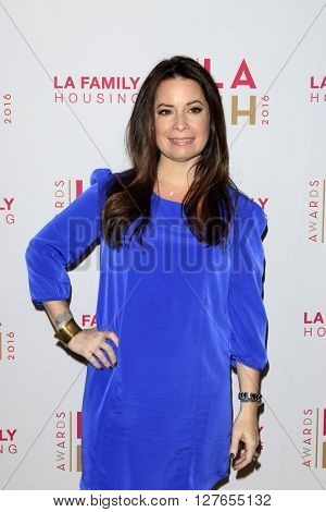 LOS ANGELES - APR 21:  Holly Marie Combs at the LA Family Housing Awards at the The Lot on April 21, 2016 in Los Angeles, CA
