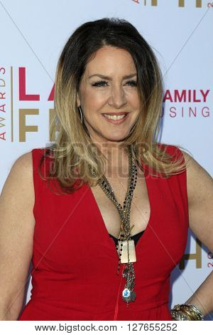 LOS ANGELES - APR 21:  Joely Fisher at the LA Family Housing Awards at the The Lot on April 21, 2016 in Los Angeles, CA