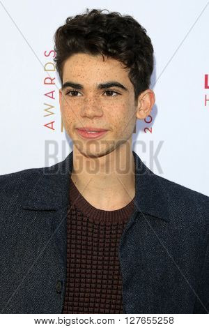 LOS ANGELES - APR 21:  Cameron Boyce at the LA Family Housing Awards at the The Lot on April 21, 2016 in Los Angeles, CA