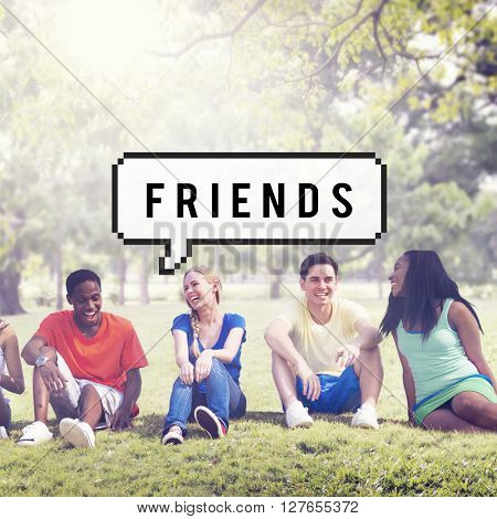 Friends Friendship Partnership Relationship Concept