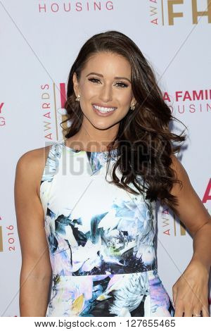 LOS ANGELES - APR 21:  Nia Sanchez at the LA Family Housing Awards at the The Lot on April 21, 2016 in Los Angeles, CA