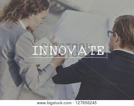 Innovate Innovation Assessment Business Plan Concept