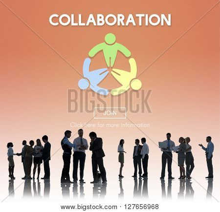Collaboration Team Group Help Support Partnership Concept