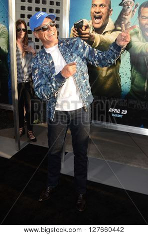 LOS ANGELES - APR 21:  Jean-Claude Van Damme at the Keanu Los Angeles Premiere at the ArcLight Hollywood Theaters on April 21, 2016 in Los Angeles, CA