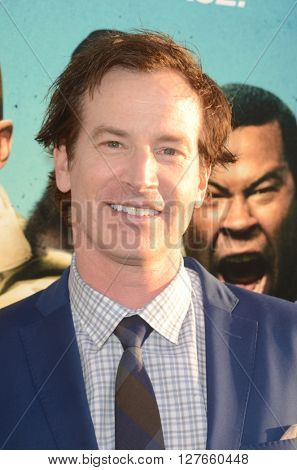 LOS ANGELES - APR 21:  Rob Huebel at the Keanu Los Angeles Premiere at the ArcLight Hollywood Theaters on April 21, 2016 in Los Angeles, CA