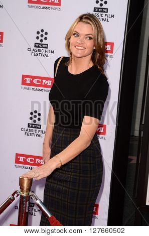 LOS ANGELES - APR 28:  Missi Pyle at the TCM Classic Film Festival Opening Night Red Carpet at the TCL Chinese Theater IMAX on April 28, 2016 in Los Angeles, CA